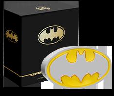 1 oz Silver BATMAN Logo (2021) Coin