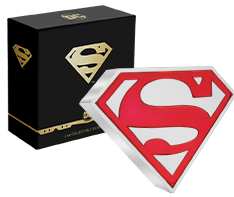 1 oz Silver Superman� Shield Coin