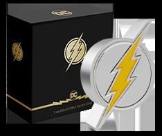 1oz Silver The Flash Emblem Coin