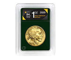 2020 1 oz Gold Buffalo Coin - MintFirstTM