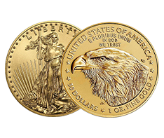 2021 Gold Eagle Coin (new design) - MintFirst