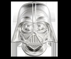 2 oz Silver Coin - Star Wars - Darth Vader Helmet