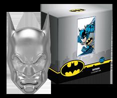 2 oz Silver Batman� Mask Shaped Coin