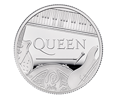 2020 1/2 oz Silver Proof Coin - Music Legends Queen