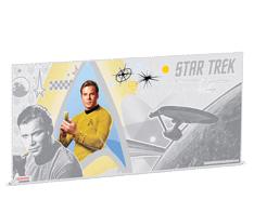 5 g Silver Coin Note - Star Trek - Captain Kirk