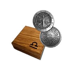 1 oz Silver Round .999 - Zodiac - Libra