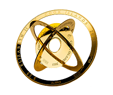 1 oz Gold Armillary Coin
