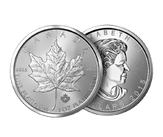 1 oz Platinum Canadian Maple Leaf Coins