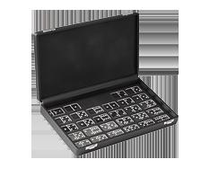 Domino Game .999 Fine Silver - Degussa