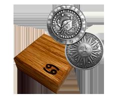 1 oz Silver Round .999 - Zodiac - Cancer