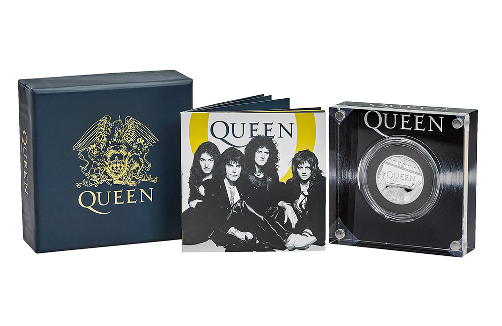 Buy 1/2 oz Silver Proof Music Legends Queen Coin (2020), image 2