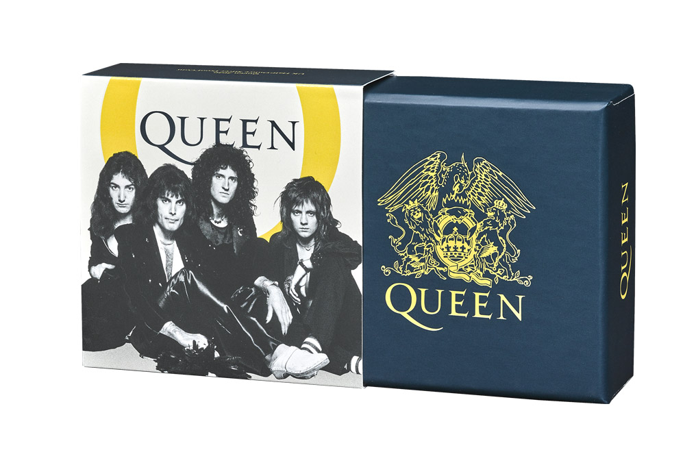 Buy 1/2 oz Silver Proof Music Legends Queen Coin (2020), image 3