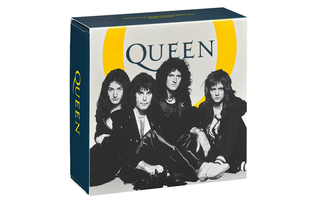 Buy 1/2 oz Silver Proof Music Legends Queen Coin (2020), image 4