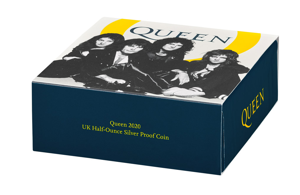 Buy 1/2 oz Silver Proof Music Legends Queen Coin (2020), image 5
