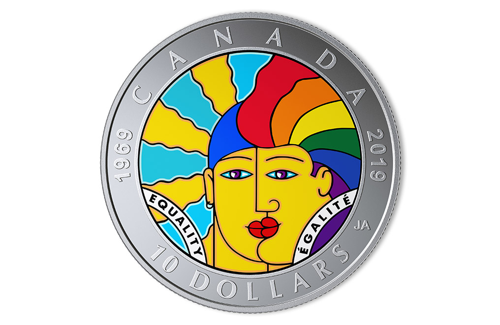 Buy ½ oz Silver EQUALITY Coin (2019), image 0