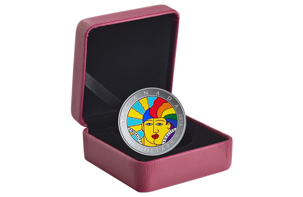 Buy ½ oz Silver EQUALITY Coin (2019), image 3