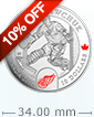 1/2 oz Silver Coin NHL® Goalies: Terry Sawchuk .9999