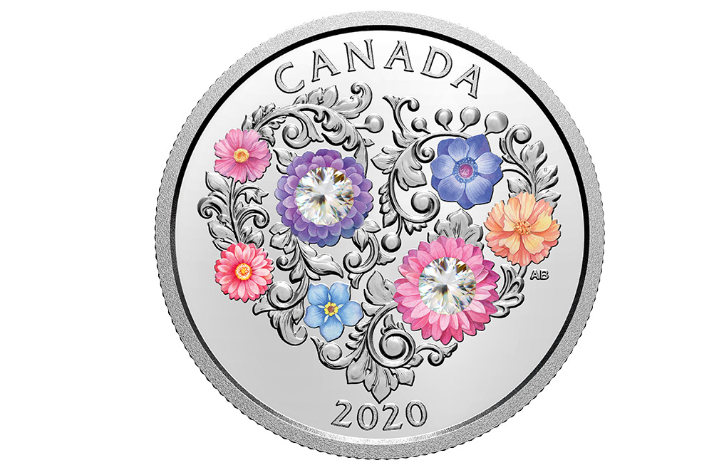 Buy 2020 1/4 oz Silver Coin .9999 - Celebration of Love, image 0