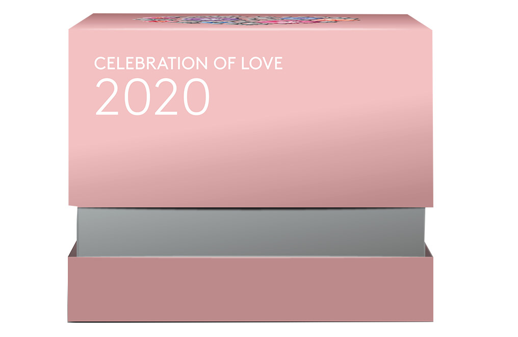 Buy 2020 1/4 oz Silver Coin .9999 - Celebration of Love, image 3