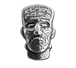 Buy 1.5 oz Silver Bar .999-3D Frankenstein Head - Antique Finish, image 0