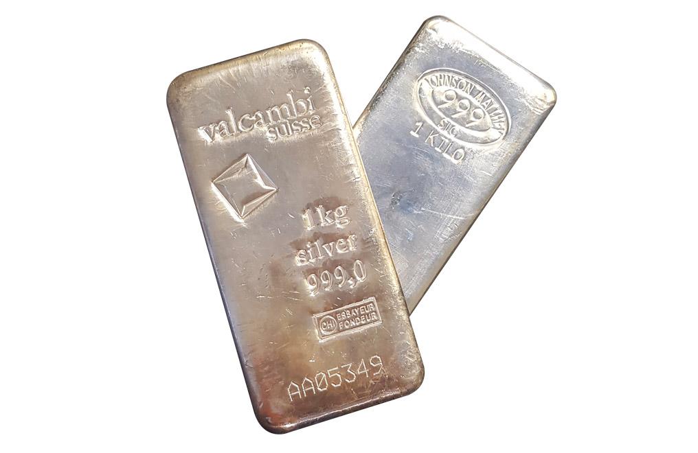 Buy 1 Kg Silver Bars Image 0
