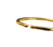 Buy 1 oz Hammered Gold Bullion Bracelet, image 1