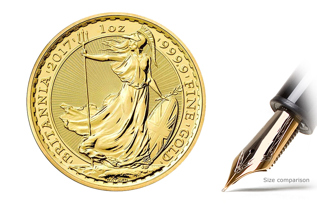 Buy 1 oz British Gold Britannia Coins, image 0