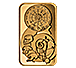 Buy 1 oz Gold Spiral of Time Bar, image 1