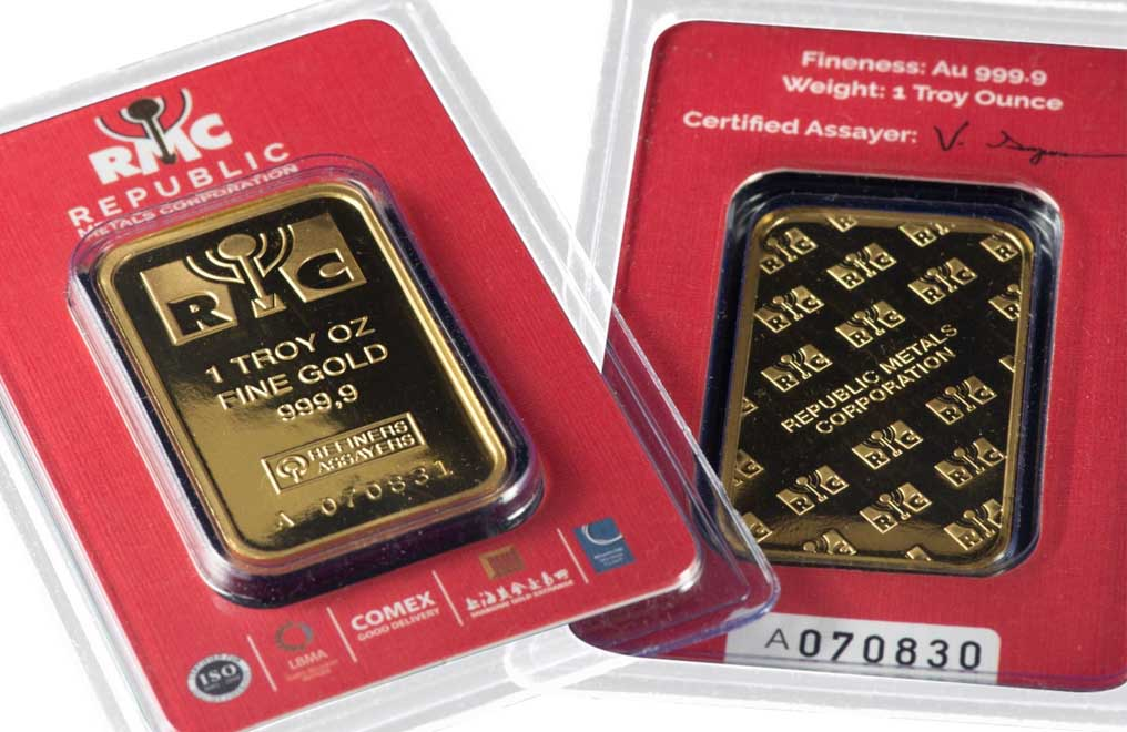 Sell 1 oz RMC Gold Bars (Red Certificate Only), image 6