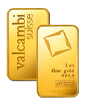 1 oz Gold Bar - Valcambi Suisse (w/assay)