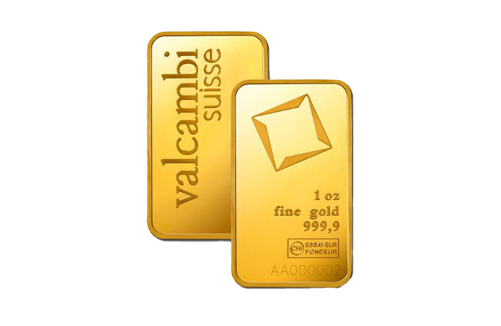 Sell Valcambi Suisse 1 oz Gold Bar, image 2