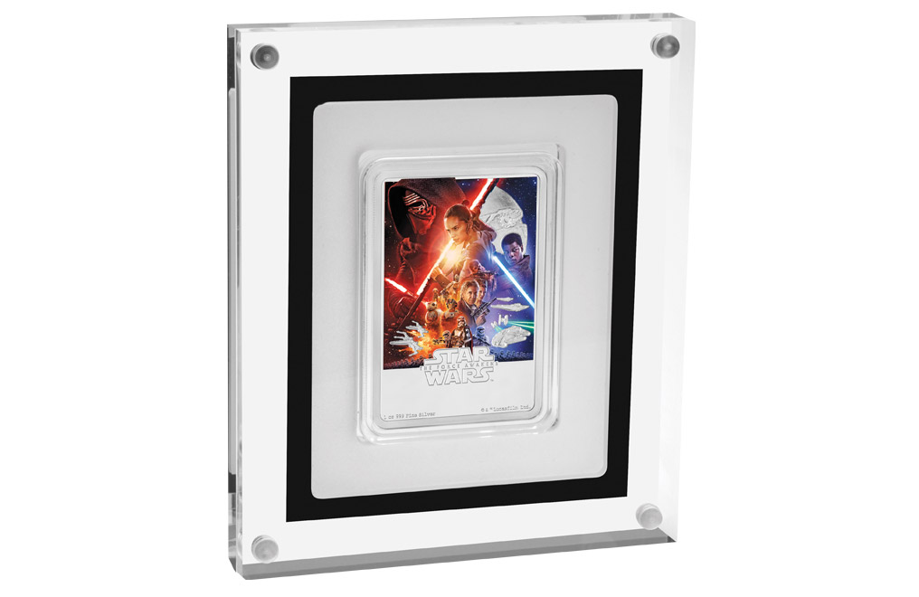 Buy 1 oz Silver Coin .999 - Star Wars: The Force Awakens, image 3