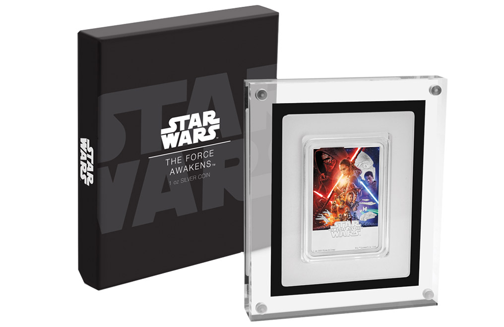 Buy 1 oz Silver Coin .999 - Star Wars: The Force Awakens, image 4
