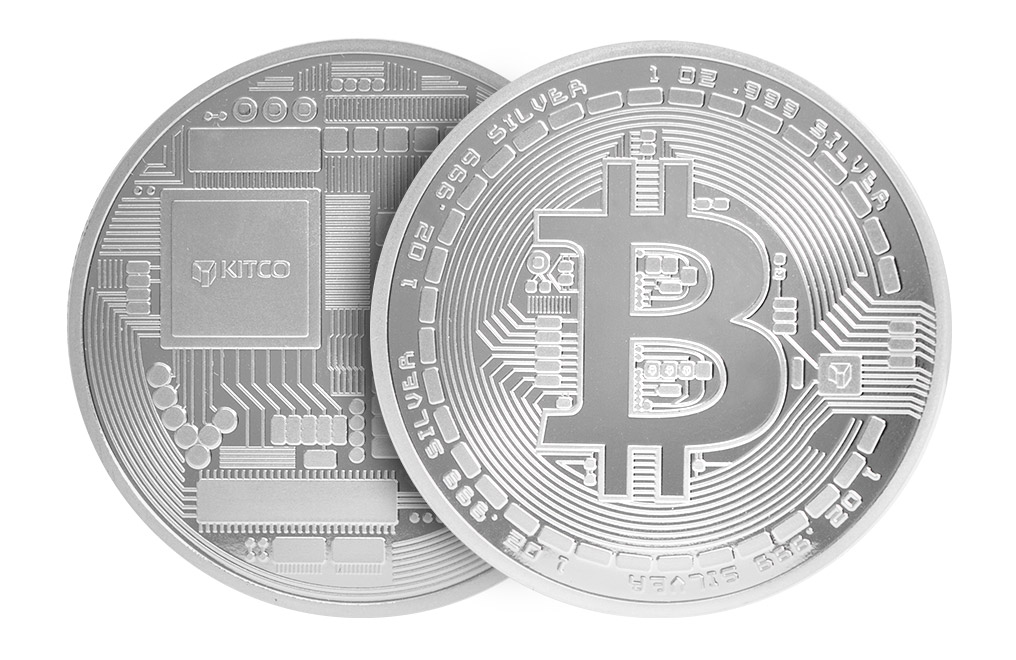 Buy 1 oz Silver Bitcoin Round .999, image 2