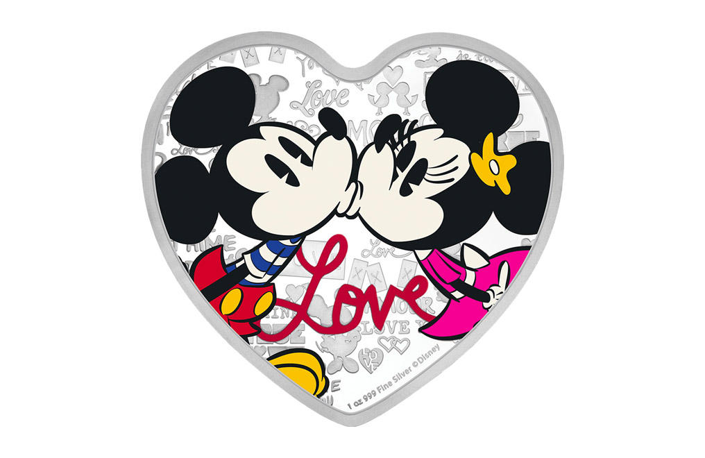 Buy 1 oz Silver Coin .999 -2019 Disney Love, image 0