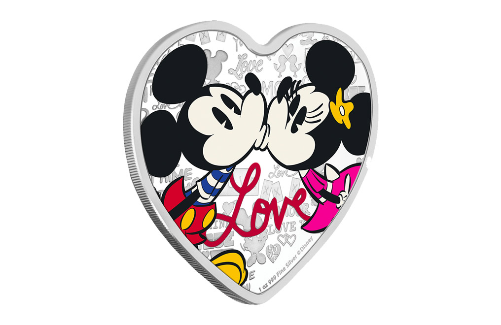Buy 1 oz Silver Coin .999 -2019 Disney Love, image 1