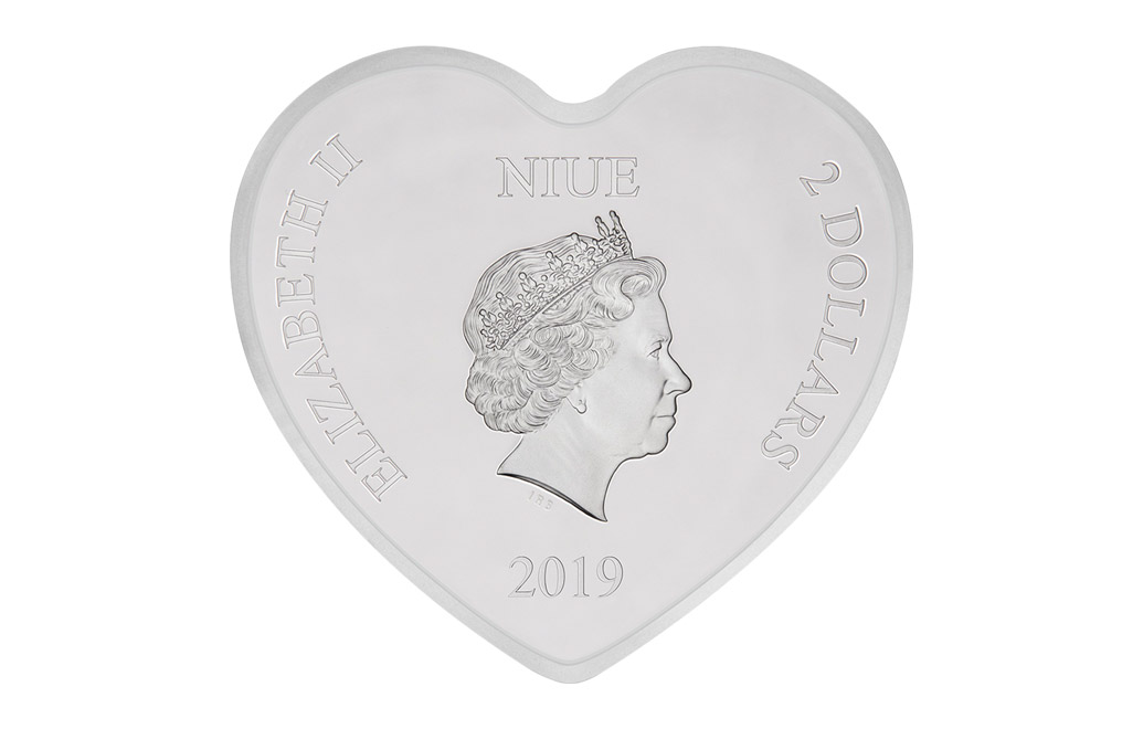 Buy 1 oz Silver Coin .999 -2019 Disney Love, image 2