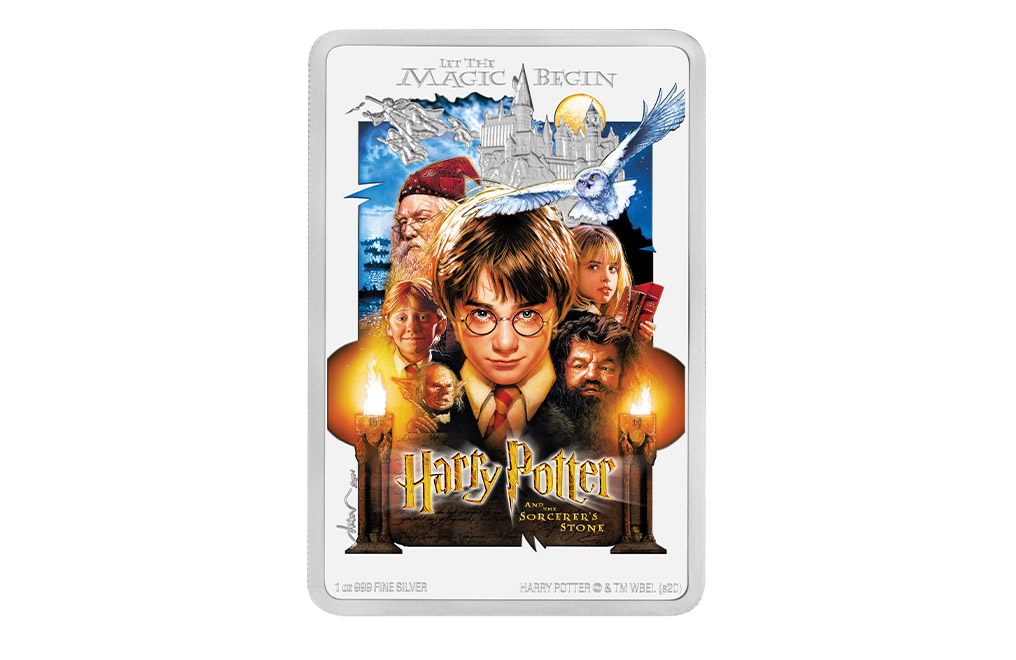 1 oz Silver Coin .999 -Harry Potter and the Sorcerer's Stone™, image 0