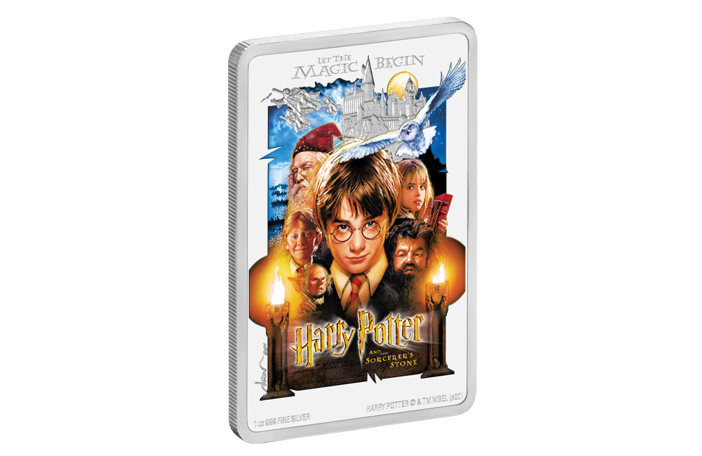 1 oz Silver Coin .999 -Harry Potter and the Sorcerer's Stone™, image 2