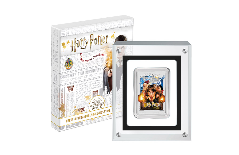 1 oz Silver Coin .999 -Harry Potter and the Sorcerer's Stone™, image 4