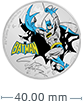 1 oz Silver Coin .999 - Justice League™ Batman™