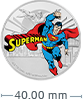 1 oz Silver Coin .999 - Justice League - Superman (2020)