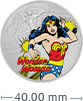 1 oz Silver Coin .999 - Justice League™- Wonder Woman™