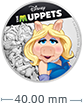 1 oz Silver Coin .999 - The Muppets - Miss Piggy