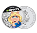 Buy 1 oz Silver Coin .999 - Muppets - Miss Piggy, image 2