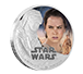 Buy 1 oz Silver Coin .999 - Star Wars: The Force Awakens - Rey, image 0