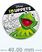 1 oz Silver Coin .999 - The Muppets - Kermit