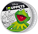 Buy 1 oz Silver Coin .999 - The Muppets - Kermit, image 2