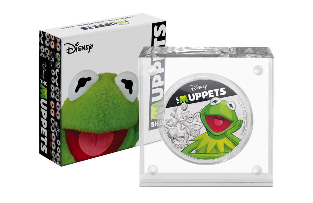 Buy 1 oz Silver Coin .999 - The Muppets - Kermit, image 3