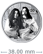 1 oz Silver Coin .9999 -Give Peace a Chance: 50th Anniversary [US: Shipping week of Feb. 3]